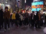 Shibuya. It's crowded.