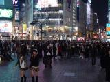 Shibuya. IT'S CROWDED!!!